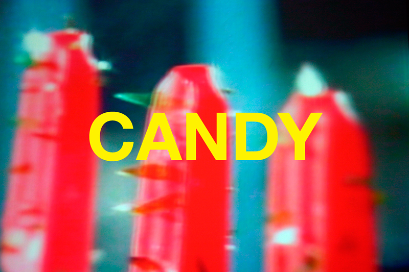 Chuck Ramirez, Words: Candy, 2004