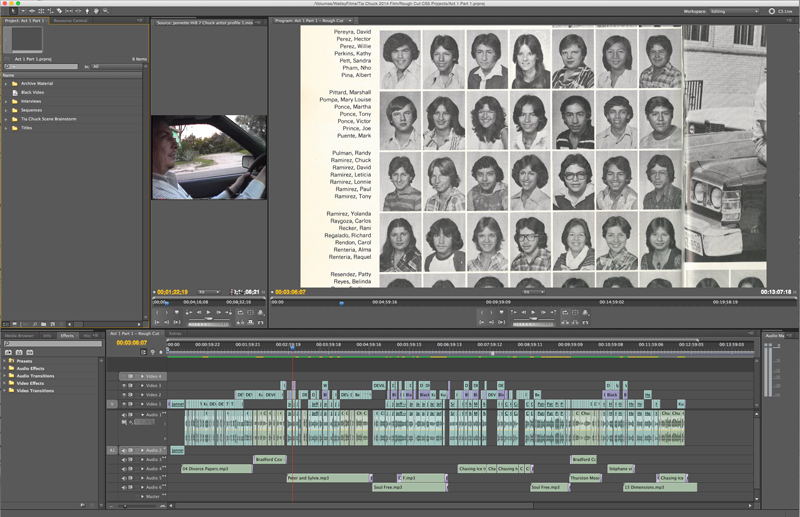 August Editing Timeline