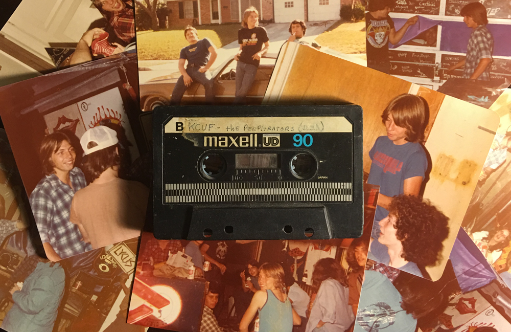 Photographs and Cassette Courtesy Jeff Adams
