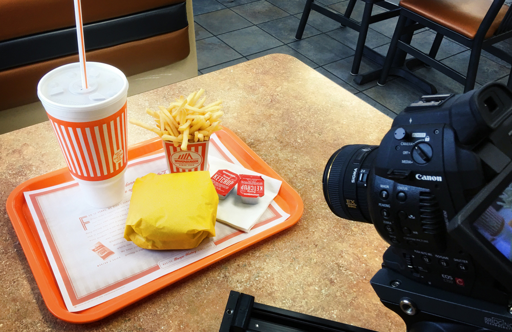 Behind the Scenes film at Whataburger