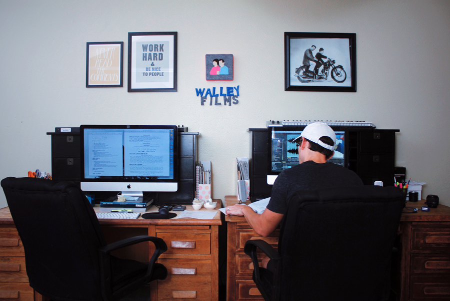 Walley Films Editing Station